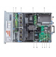 Server Dell R740 ( 1 x Xeon Bronze 3104 - Ram 8G 2666MT - Sas 300G 10k - Raid H330 - Psu 495W )